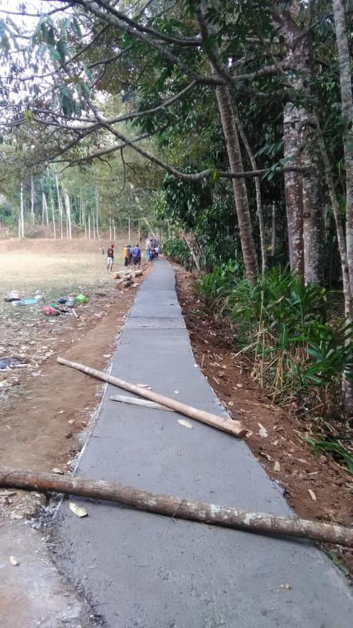Image : PEMBANGUNAN DESA RABAT BETON DUSUN KRAGAN TAHUN ANGGARAN 2018